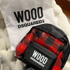 Handbags - Wood D squared 2 backpack